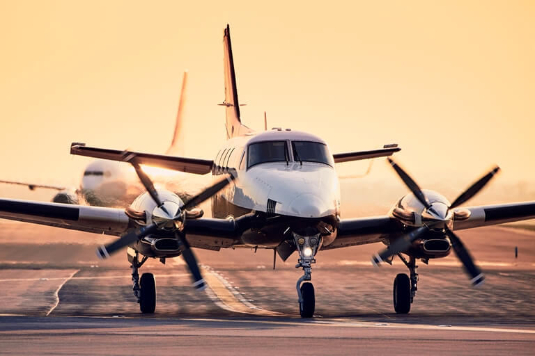 corporate airplane accounting
